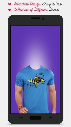 Man T-shirt Photo Maker screenshot 3
