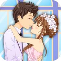 Anime Dress Up Games For Girls - Couple Love Kiss on 9Apps