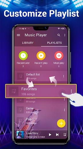لاعب الموسيقى - مشغل MP3 3 تصوير الشاشة