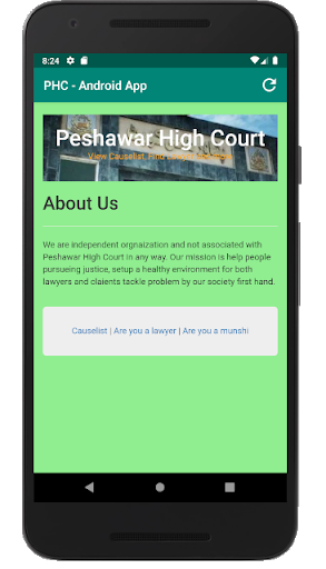 PHC Causelist screenshot 5