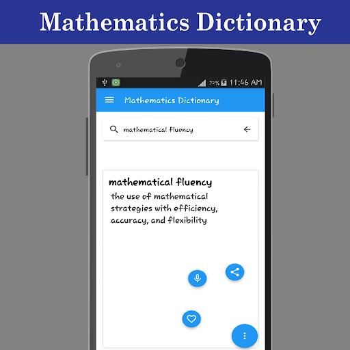 Mathematics Dictionary screenshot 3