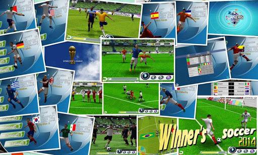 Winner Soccer Evolution 1 تصوير الشاشة