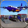 US Police Airplane Cop Dog Transporter Kids Games icon