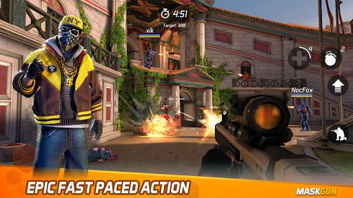 MaskGun Multiplayer FPS - Shooting Gun Games screenshot 1