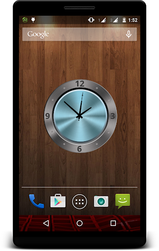 Metal Clock Live Wallpaper 4 تصوير الشاشة