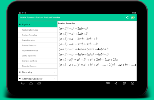 All Math formula screenshot 5
