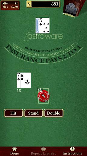 Astraware Casino 5 تصوير الشاشة