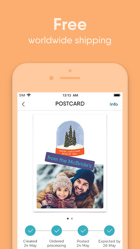 TouchNote - Photo Cards Made by You screenshot 5