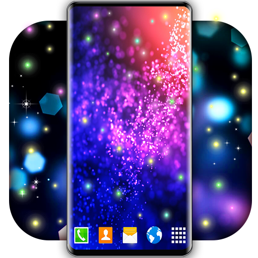 Live Wallpaper 3D Touch ⭐ Best Free HD Wallpapers أيقونة