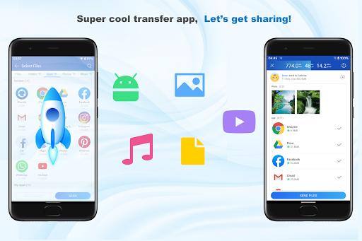 ShareMi - स्थानांतरण, शेयर, डेटा कॉपी, फोन क्लोन स्क्रीनशॉट 6