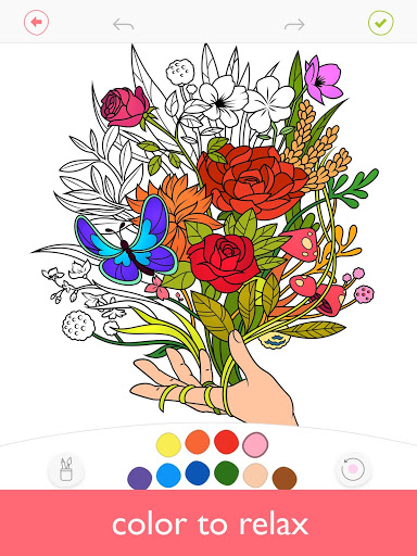 Colorfy: Coloring Book for Adults - Free screenshot 1