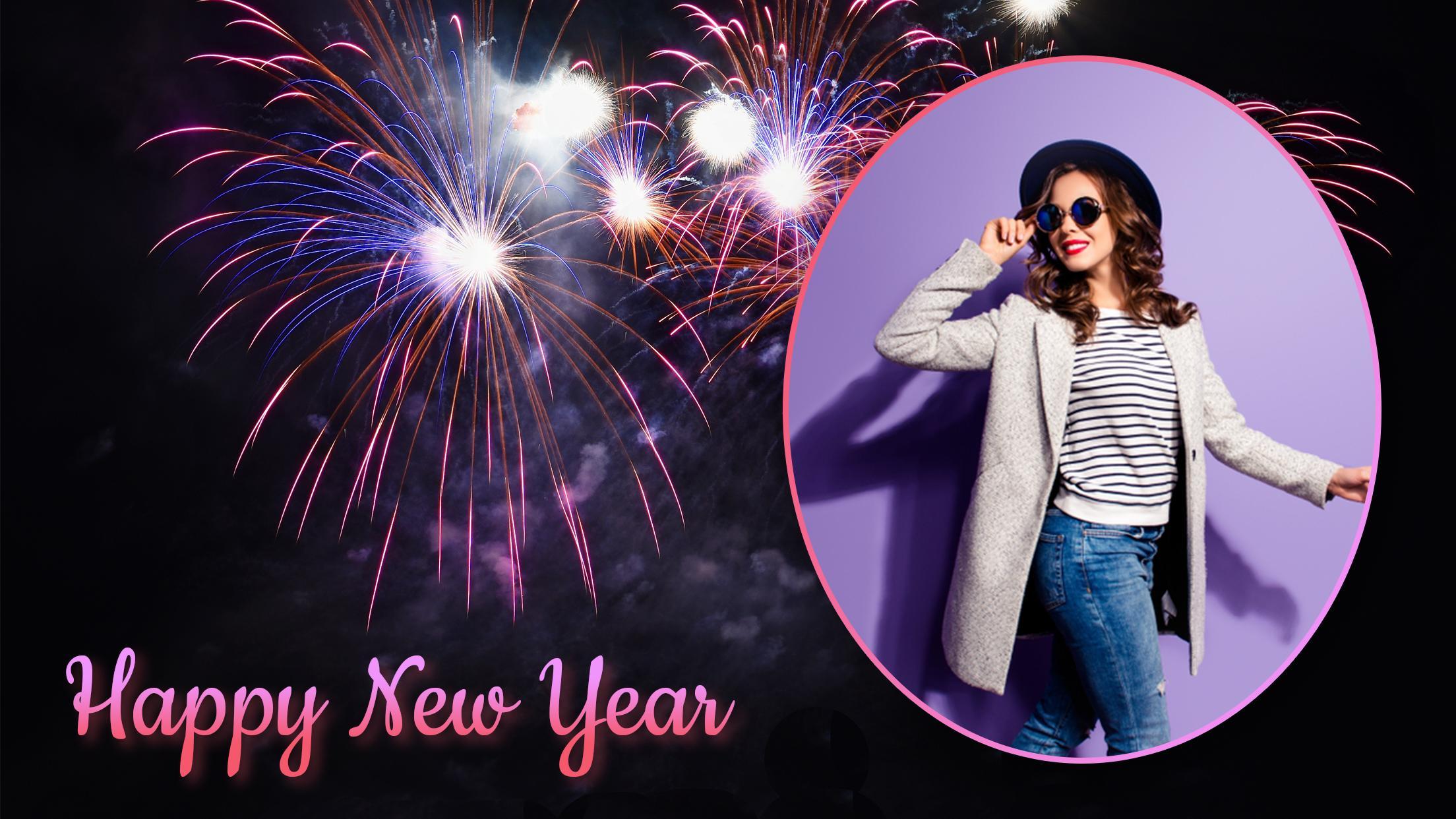 New Year Photo Frames 2019 : Photo Maker screenshot 1