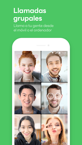 LINE: Llama y mensajea gratis screenshot 4