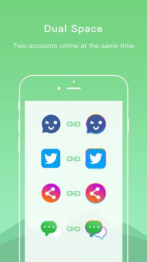 Dual Space - Multiple Accounts & App Cloner screenshot 2