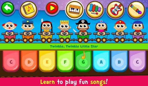 أطفال البيانوالموسيقى والأغاني 2 تصوير الشاشة