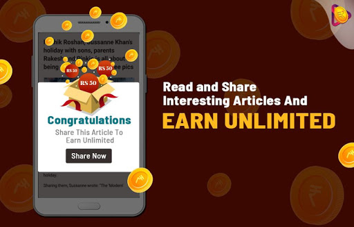 Roz Dhan: Earn Wallet cash, Read News & Play Games screenshot 10