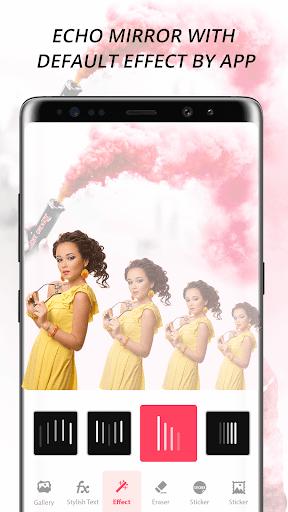 Echo Mirror Magic : Echo Effect Photo Editor 1 تصوير الشاشة