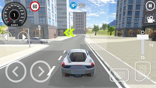 Driving School Simulator 2020 1 تصوير الشاشة