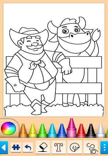 Painting and drawing game screenshot 10