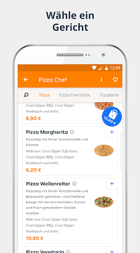 pizza.de | Food Delivery 2 تصوير الشاشة