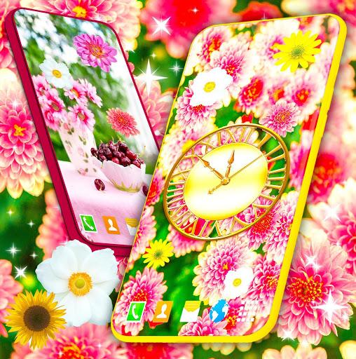 HD Summer Live Wallpaper 🌻 Flowers 4K Wallpapers screenshot 1