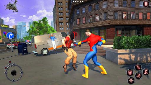 Rope Amazing Hero Crime City Simulator screenshot 3
