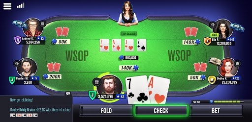 World Series of Poker WSOP Pokeren Gratis screenshot 8
