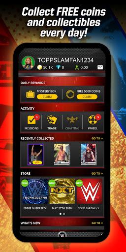 Topps® WWE SLAM: Card Trader 7 تصوير الشاشة