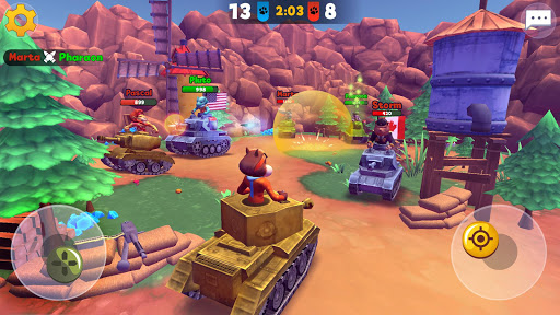 Zoo Games War: Battle Royale online 12 تصوير الشاشة