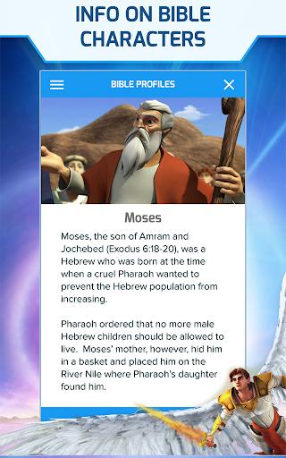 Superbook Kids Bible, Videos & Games (Free App) screenshot 14