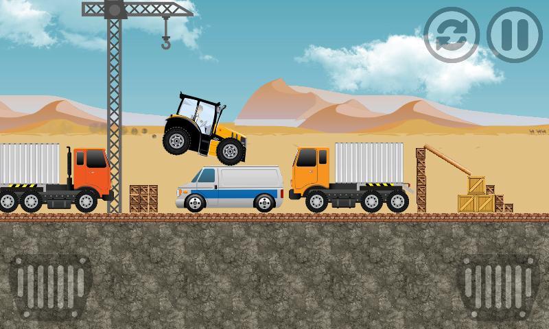 Tractor Farm Power Racing 3 تصوير الشاشة
