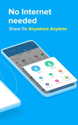 ShareMe  - #1 file sharing & data transfer app screenshot 2