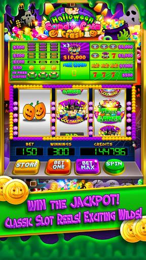 Halloween Candy Vegas Slots Mega Slot Machine FREE screenshot 6
