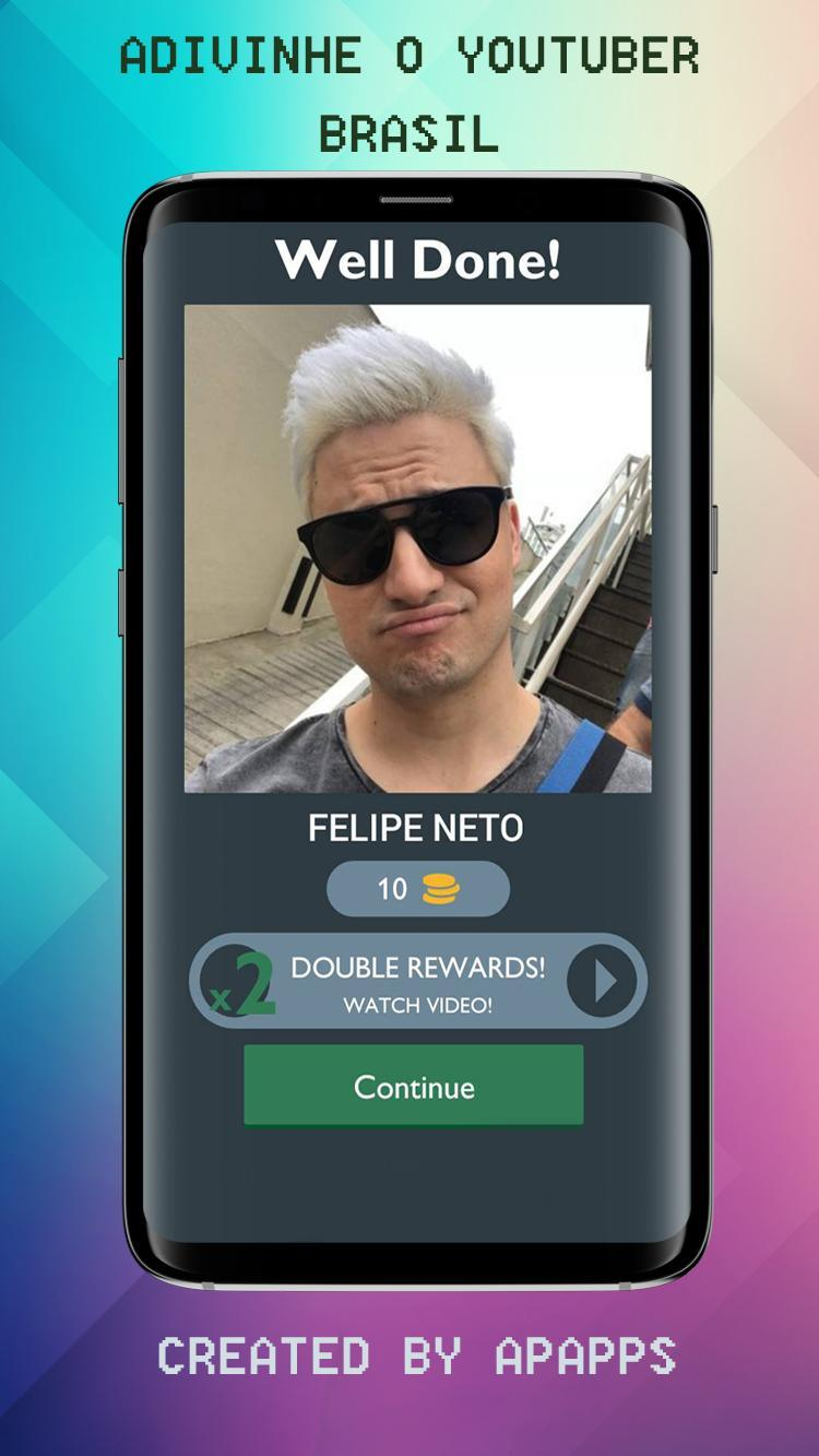 Adivinhe o Youtuber Brasil 2 تصوير الشاشة