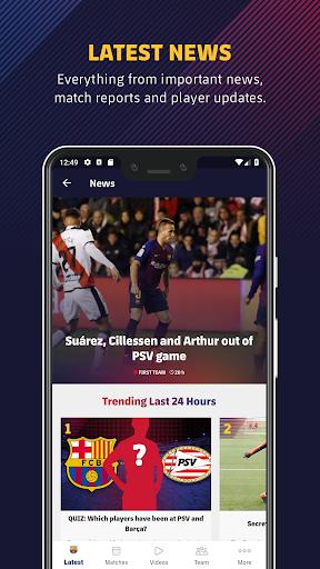 FC Barcelona Official App 6 تصوير الشاشة