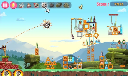 Slingshot Shooting Games: Bottle Shoot Free Games screenshot 3