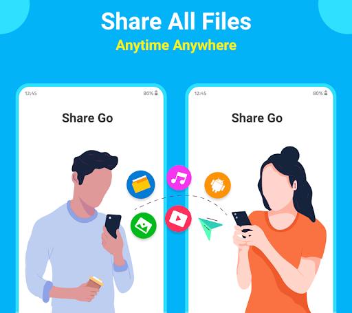SHARE Go : File Transfer & Share App screenshot 1