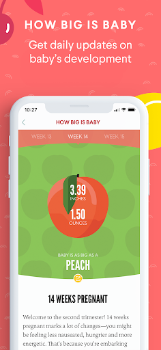 The Bump - Pregnancy & Baby Tracker screenshot 2