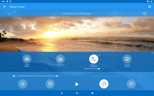 Relax Ocean - Nature sounds: sleep & meditation screenshot 11