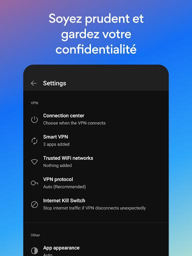 Hotspot Shield Gratuit VPN Proxy & Sécurité WiFi screenshot 10