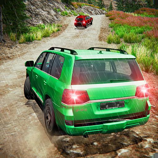 Offroad Prado Car 4X4 Mountain Drift Drive 3D icon