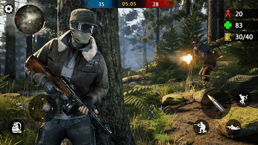 Special Ops 2020: Multiplayer Shooting Games 3D screenshot 2