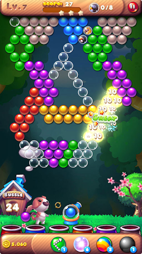 Bubble Bird Rescue 2 - Shoot! 2 تصوير الشاشة