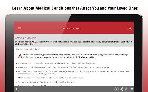 MSD Manual Consumer screenshot 13