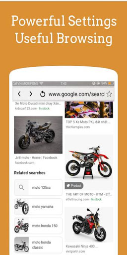 X Pro Browser : Super fast, Powerful and Secure screenshot 1