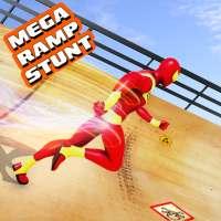 Mega Ramp Car Stunt Driving Games - Car Games on 9Apps