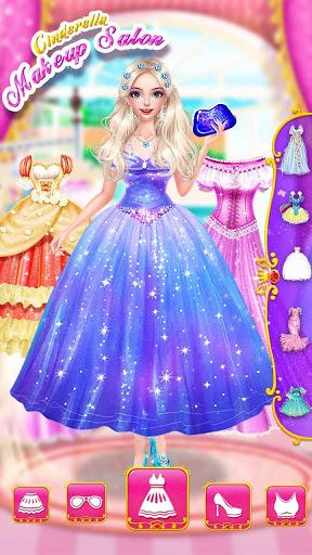 💄👗Cinderella Fashion Salon - Makeup & Dress Up screenshot 7