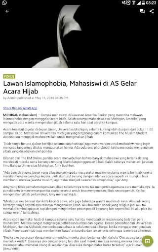 Fokus Islam 2 تصوير الشاشة