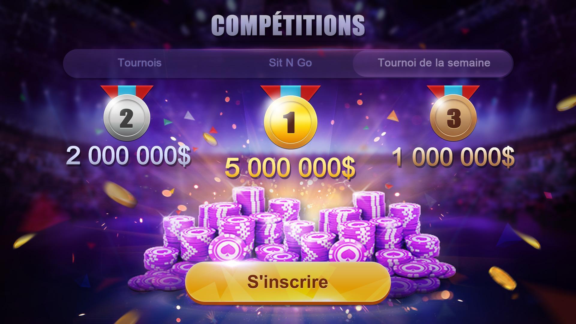 Poker France HD – Artrix Poker 4 تصوير الشاشة