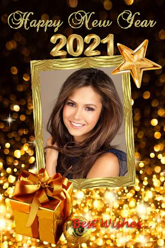 2021 New Year Photo Frames Greeting Wishes screenshot 4
